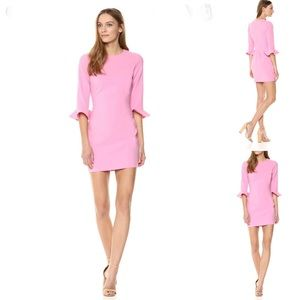 Likely | Bedford Mini Pink Bell Sleeve Dress 6